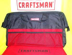 Craftsman 20 Inch Nylon Tool Bag Pouch Box Case Wrench
