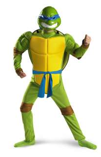 Ninja Turtles Leonardo Muscle Child Halloween Costume