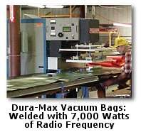 Duramax Vacuum Press Bag for Wood Veneer 4 x 8