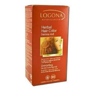 Herbal Hair Color Powders Henna Red: Beauty