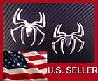 3D CHROME SPIDER SPIDERMAN DECAL CAR AUTO WINDOW STICKER EMBLEM BADGE