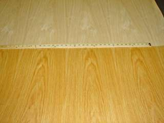 Red Oak wood veneer 48 x 96 with wood backer