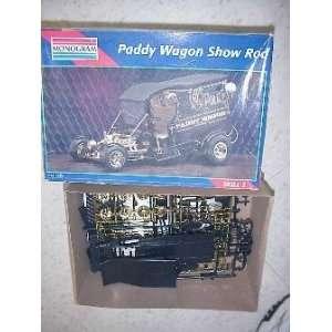 1995 Monogram /Revel Paddy Wagon Show Rod 124 Model Ki oys & Games