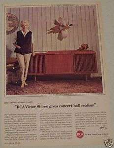 1964 RCA VICTOR SOLID STATE STEREO AD