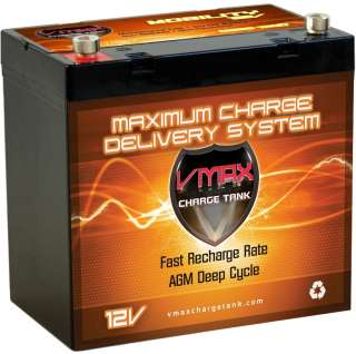 Yamaha G MAXUTILITY Golf Cart 12VAGM VMAX Battery MB137