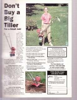 Mantis AD   Tiller/Cultivator. Dont Buy a Big Tiller..