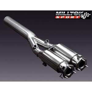 Milltek High Flow Cat Audi TT 225hp Quattro Mk1 01 06: Automotive