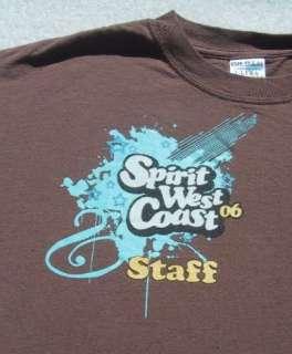 SPIRIT WEST COAST 2006 staff   MEDIUM T SHIRT christian
