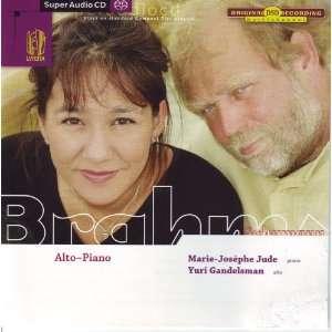 Brahms, Robert Schumann, Marie Josephe Jude, Yuri Gandelsman Music