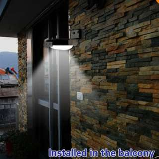 Solar Power Lamp Outdoor Garden Path yard Wall Light Ray sound Sensor