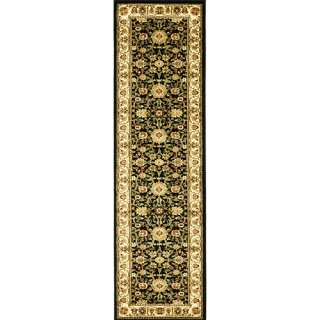 Safavieh Lyndhurst Traditional Black/Ivory Rug 23 X 12 Decor