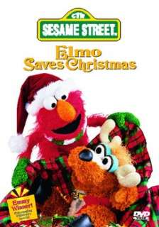 Sesame Street   Elmo Saves Christmas (DVD)