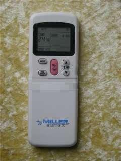 MILLER Air Conditioner Remote Control   R11CG/E