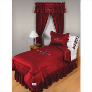 13 Sports Coverage Texas Tech Comforter   Full/Queen