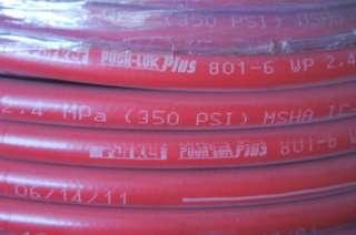 Parker 801 Push Lok  6 AN Air Water Oil Diesel Fuel Hose Loc Lock On