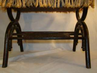 Antique VICTORIAN PARLOR Old OAK BENTWOOD Organ PIANO Foot Stool BENCH
