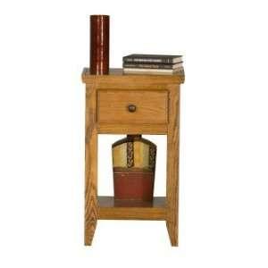 Eagle Classic Oak Telephone Stand With Shelf Furniture