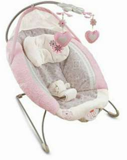 Fisher Price My Little Sweetie Deluxe Mobile Bouncer Seat Chair