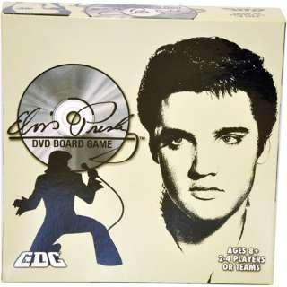Elvis Presley DVD Board Game, Adventure Board Game, Family Board Game