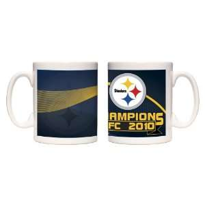 NFL AFC Champ 2 Pack Coffee Mug Sports & Outdoors