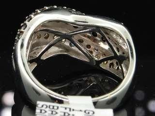 GOLD CHOCOLATE BROWN DIAMOND ENGAGEMENT RING WEDDING BAND SET