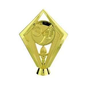 Gold 5 1/2 Trophy Scene Figure Trophy Toys & Games