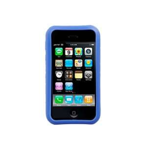 Silicone Cover   Apple iPhone 3G/3GS   Blue Cell Phones