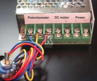 dc12v 60v 30a 1500w pwm pulse dc motor speed controller adjuster 0 %