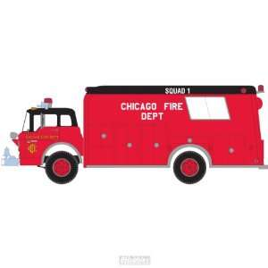 N RTR Ford C Fire Rescue Truck, Chicago ATH10292: Toys & Games