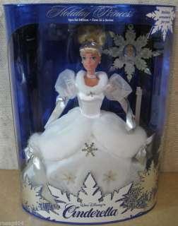 Disney's Cinderella Barbie Holiday Princess 1st In Series Special