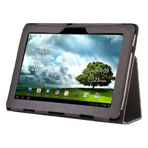 CE Compass Black Leather Case Cover Stand For Asus Eee Pad