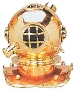 Navy Mark V Full size Diving Helmet Replica  Overstock