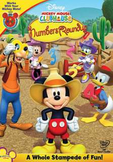 Mouse Clubhouse Mickeys Numbers Round Up (DVD)