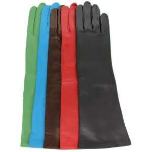 Ladies Beauty Full Length Leather Gloves with Silk Lining By Grandoe