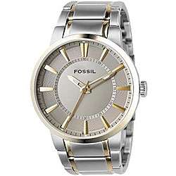 Fossil Mens Two tone Stainless Steel Watch
