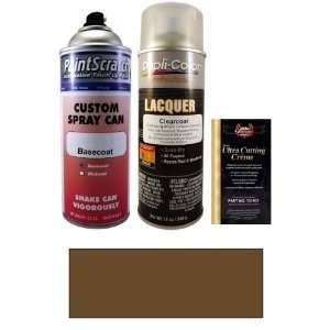 12.5 Oz. Dark Brown Metallic Spray Can Paint Kit for 1977 Mercury All