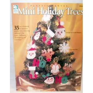 Plastic Canvas Mini Holiday Trees Books