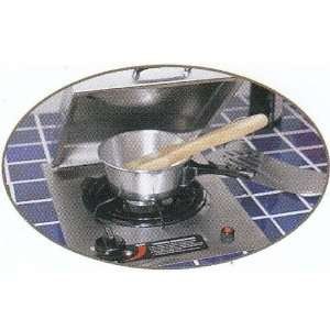 Countertop Side Burner : MHP Stainless Steel Countertop Propane Side Burner: Home & Kitchen