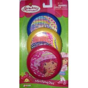 Strawberry Shortcake Mini Flying Discs: Toys & Games