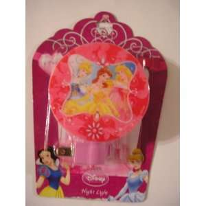 Disney Princess Night Light Aurora, Cinderella, Belle