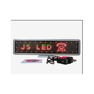 Table Top Programmable Multi Color Scrolling LED Sign Message Board