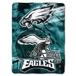 NFL Philadelphia Eagles AGGRESSION 60x80 Super Plush Throw
