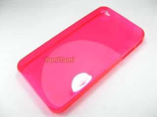 Plastic Crystal Skin Cover Protector Case Guard for Apple iPhone 4 4G