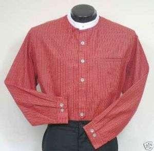 FRONTIER CLASSICS Red Virginia City Shirt SASS COWBOY