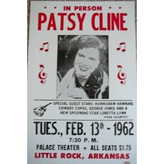 Grand Ole Opry Live w/ Hank Williams & Patsy Cline Poster