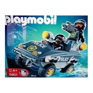 Playmobil Police Vehicle (5801): Toys & Games