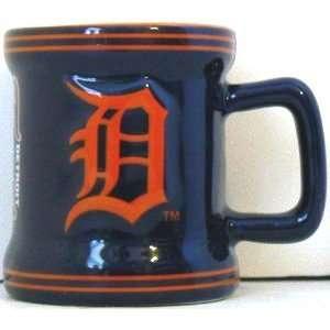 Detroit Tigers Ceramic Shot Glass   1 oz. Kitchen