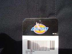 DICKIES Work Shirt Brand New Short Sleeve Button Up BLACK