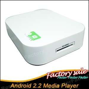 New Mini Android 2.2 Google TV BOX Network HDMI Media Player Support