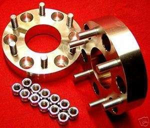 BILLET) WHEEL SPACERS ADAPTERS Chevy Truck Tahoe 1.5